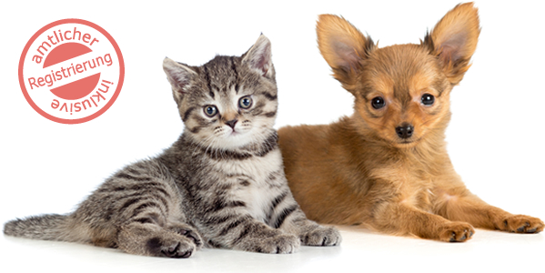 Petcard - inklusive amtlicher Registrierung